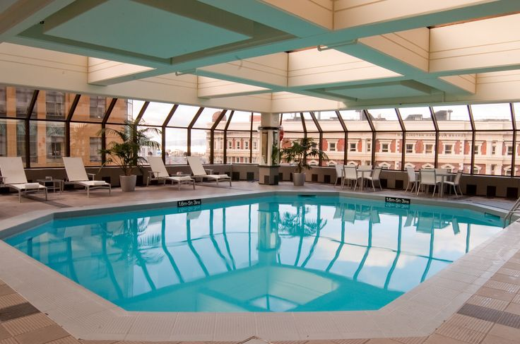 Relax and unwind in Wellington's largest indoor heated hotel swimming pool.