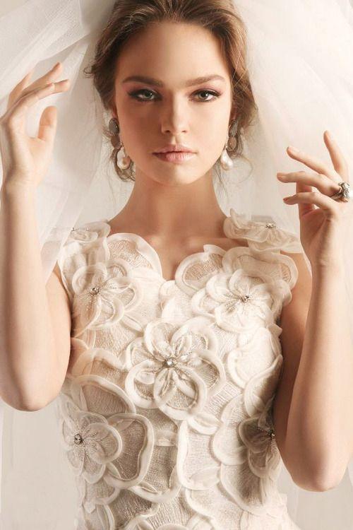 Bride Chic 5 Trends for Fall 2014 Modern Lace Rami Kadi