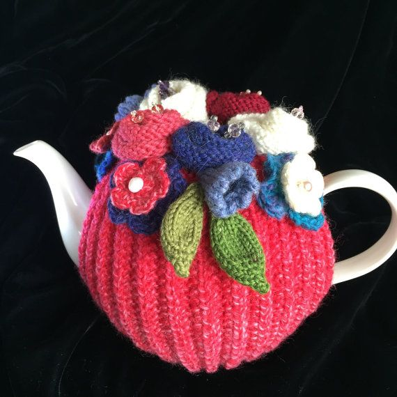 Rickety Gates Bespoke Hand Knitted Tea Cosy 4-6