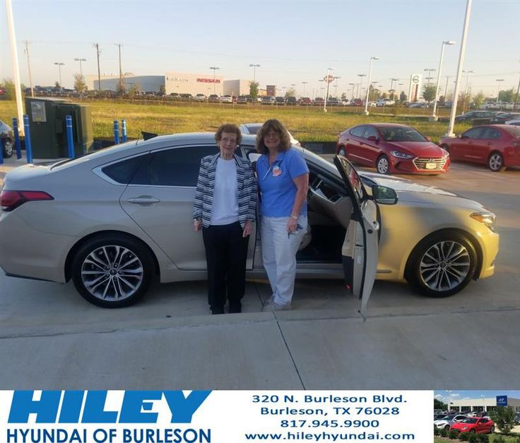 https://flic.kr/p/S7m9rr | Congratulations Donna on your #Hyundai #Genesis from Bao Nguyen at Hiley Hyundai of Burleson! | deliverymaxx.com/DealerReviews.aspx?DealerCode=KNWA