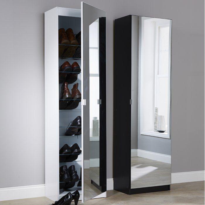 Best Mirror Shoe Storage Cabinet In 2019 Shoe Cupboard Shoe 640 x 480