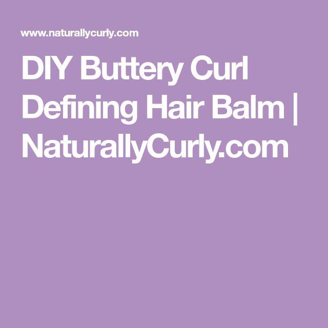 DIY Buttery Curl Defining Hair Balm | NaturallyCurly.com