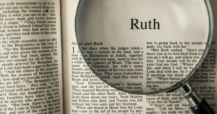 If you read the book of Ruth, you'll see God's fingerprints all over her life. There's a lot of lessons in Ruth's story, but these 5 really stand out.
