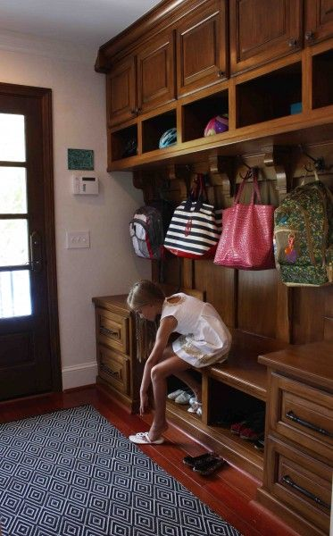 This whole makeover is flipping ingenious, but HOLY MUDROOM, batman!