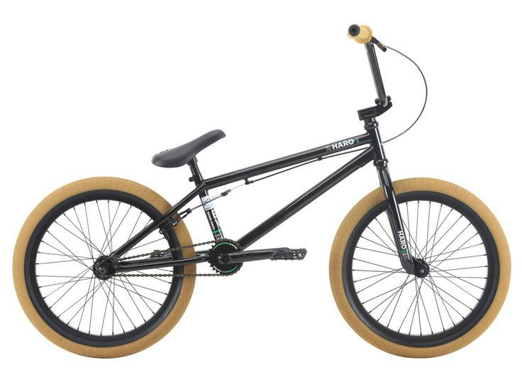 "Haro Bikes ""Boulevard"" 2018 BMX Bike - Gloss Black | kunstform BMX Shop & Mailorder - worldwide shipping"