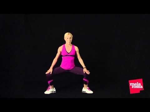 Fitness a casa tua: il circuito gambe di Melarossa (tutorial) - YouTube