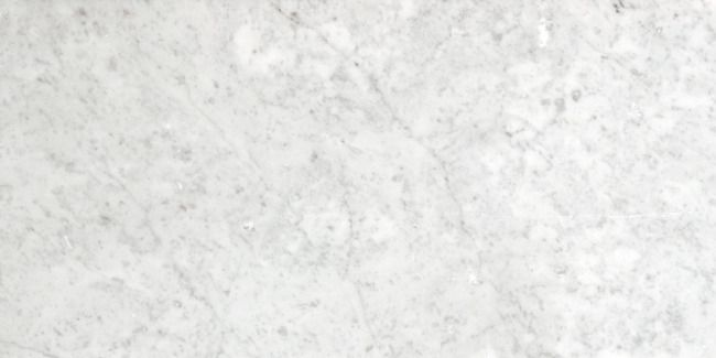 Colour: Bianco Carrara Finish: Honed A classic white marble with grey veins.