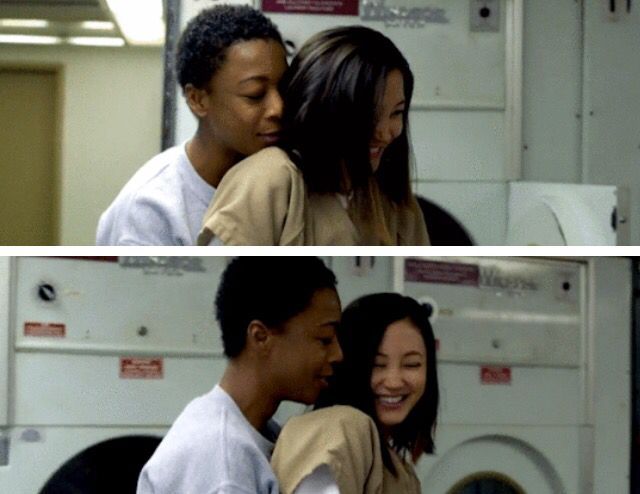 They totally were the cutest, still crying over Poussey's death...