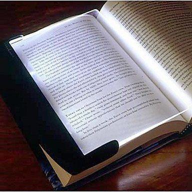NEW-Night Vision Paperback Book Reading Lightwedge LED Light Panel (3xAAA)