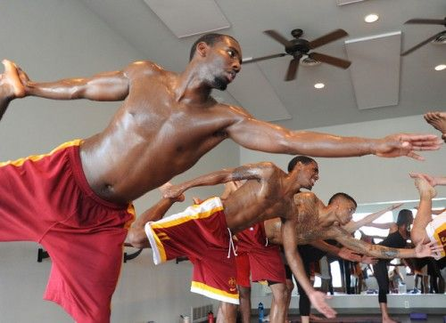 Yoga for Athletes by yogadork: Iowa State is incorporates yoga into their basketball team's pre-season training. Granted, yoga in sports is nothing new, but it does elevate our prana to see more and more athletes enjoy the benefits of the practice. #Yoga #Athletes #Basketball #ISU