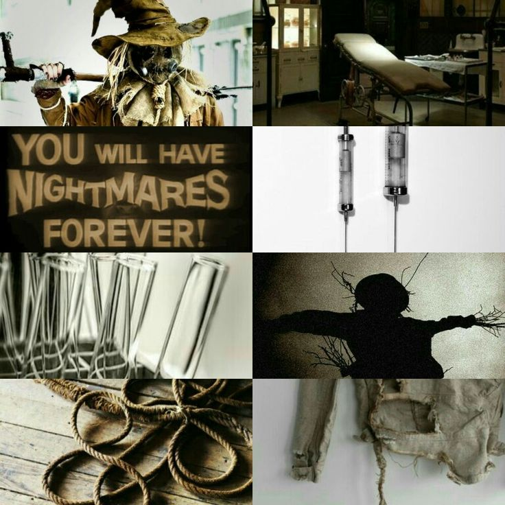 Jonathan Crane Scarecrow aesthetic