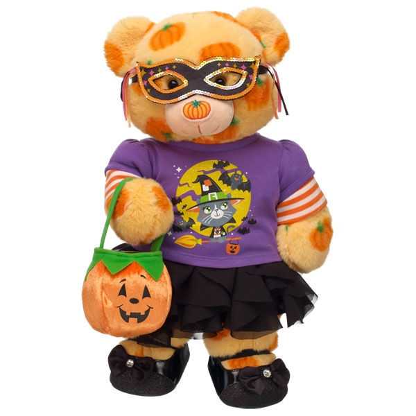 Costume Party Pumpkin Pal Teddy - Build-A-Bear Workshop US $41.50