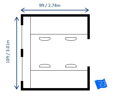 heres some suggestions for home office floor plans find an office layout that will work for you - Home Office Floor Plans