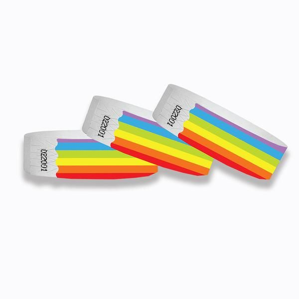 It's just a picture of Printable Tyvek Wristbands with event