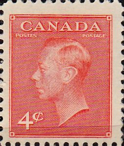 Canada 1949 King George VI Fine Mint SG 417 Scott 287 Other Canadian Stamps HERE