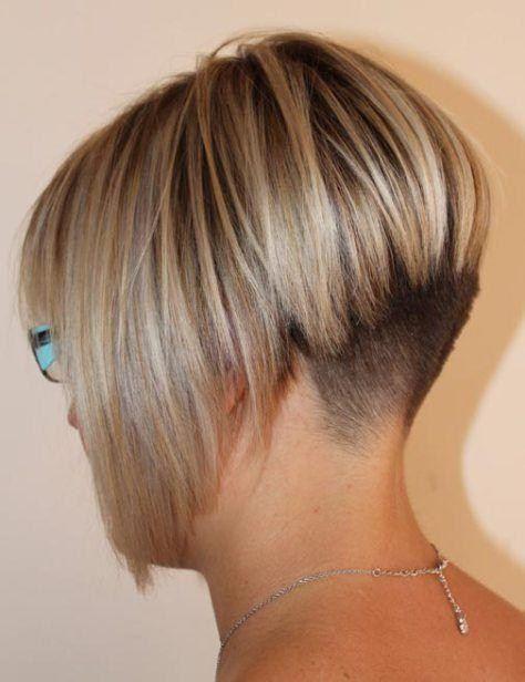 15 abgewinkelte Bob Frisuren, die gerade im Trend sind | Tapered bob … – Damen Haare