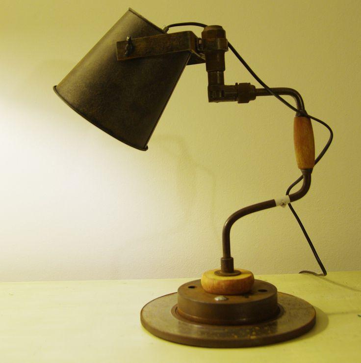 lampe chignole type industriel : Luminaires par stefeetlight