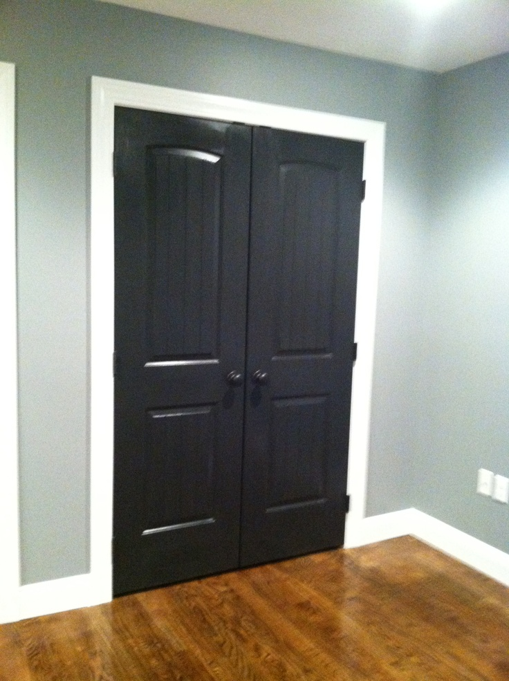 My High Gloss Black Interior Doors Black White Decor My Fave