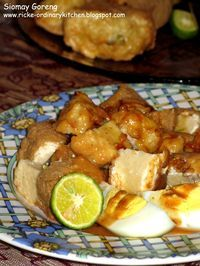 Just My Ordinary Kitchen...: SIOMAY GORENG