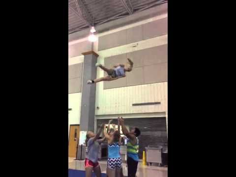 Kick full basket toss - YouTube