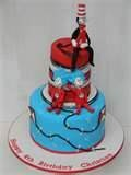 Image detail for -Cat in the Hat inspired CUSTOM cake topper Sitting 6 inch ...