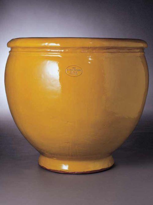 <b>The Brooke Planter</b> <br>63 cms tall, 66 cms outer diameter 55 cms opening diameter, 55 kilos