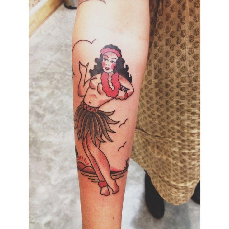 My New Sailor Jerry Hula Girl Tattoo Ideas Amp Wants