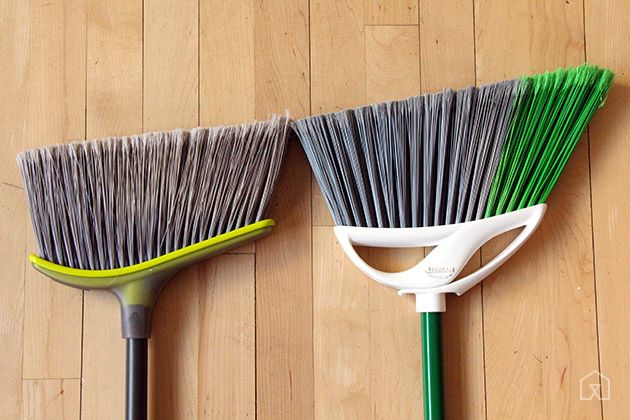 Casabella broom head and Libman broom head comparison