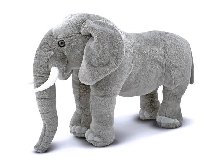 Large lifellike elephant, loved by ladies. They make great Christmas presents for the ladies who have everything.