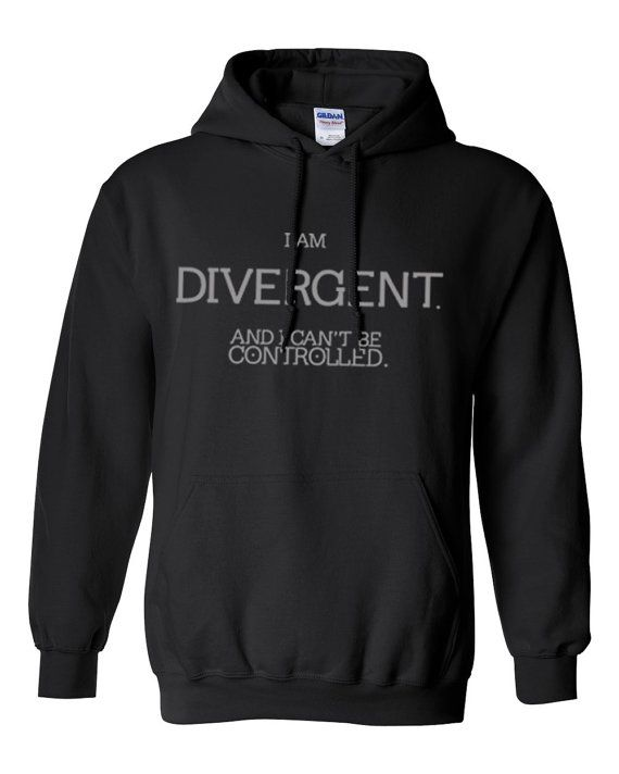 Hey, I found this really awesome Etsy listing at https://www.etsy.com/listing/177329433/i-am-divergent-hoodie