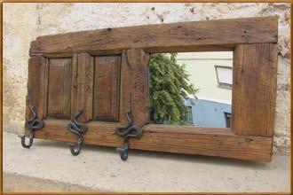 Ventanas de madera recicladas buscar con google for Puertas de madera reciclada