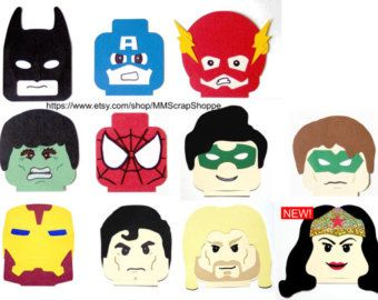 LEGO Superhero Party Decorations by MMScrapShoppe on Etsy