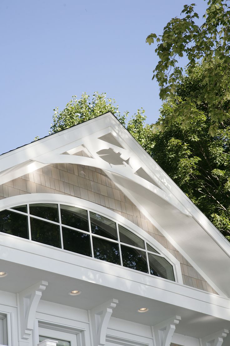 Transom window in gable end Window Design