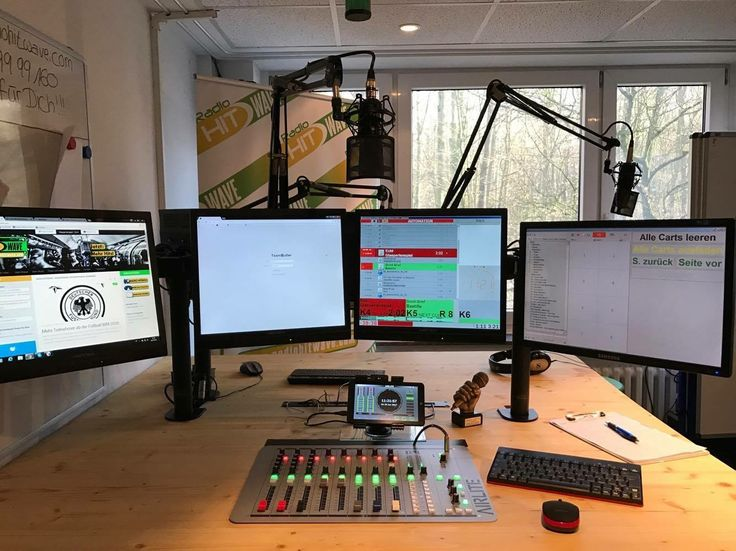 272 Best Radio Station Studios Images On Pinterest