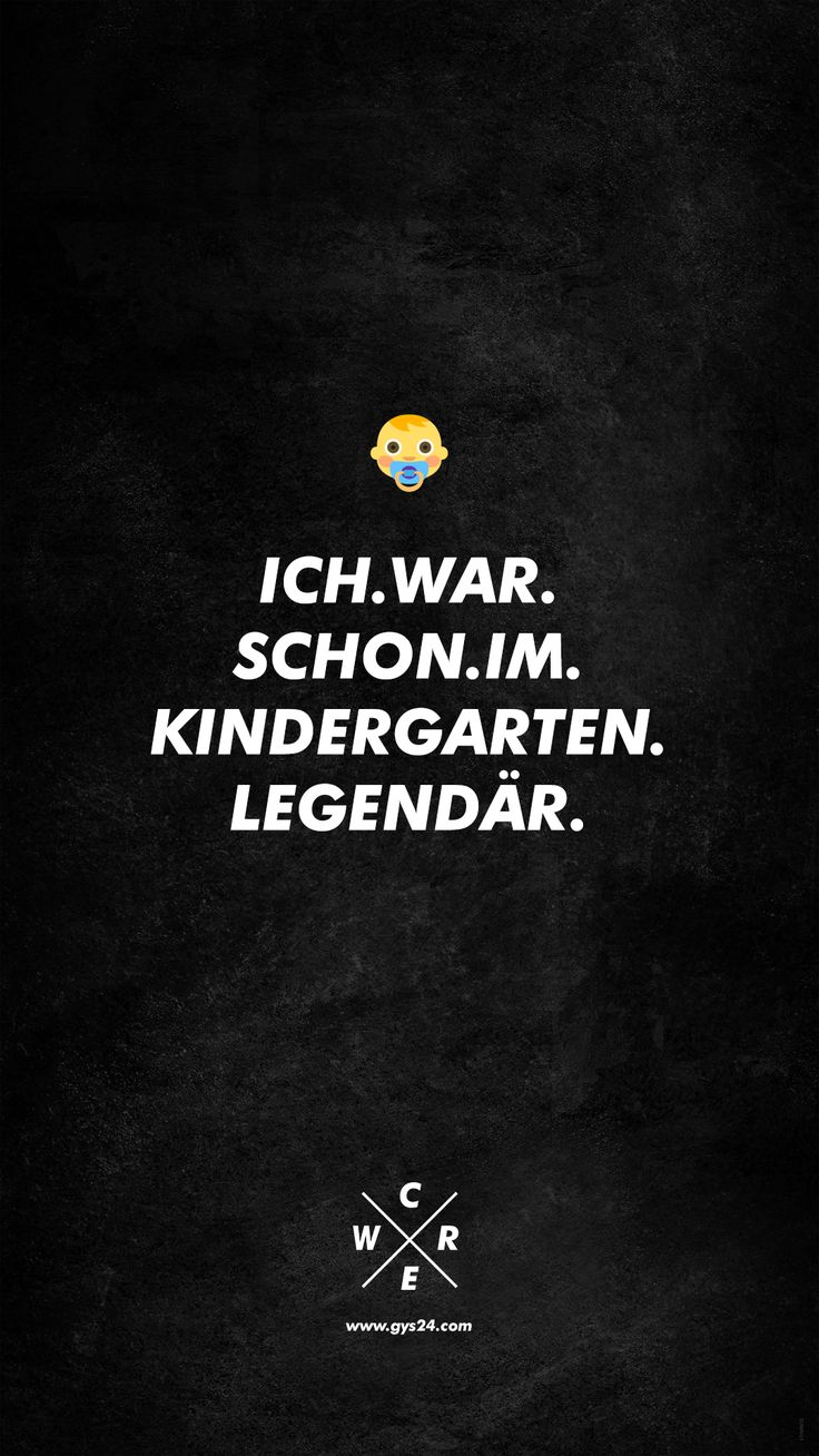 Ich war schon im Kindergarten legendär