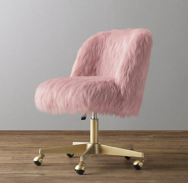Pin By Jade On Idee Deco Chambre Ado Fille Pink Desk Chair Desk Chair Bedroom Desk Chair