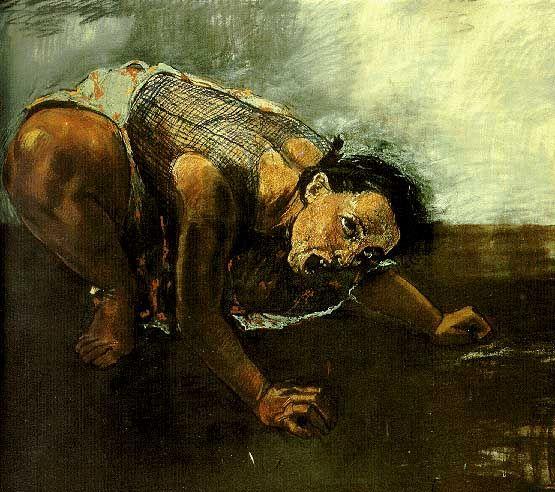 Paula Rego, Dog Woman, 1994