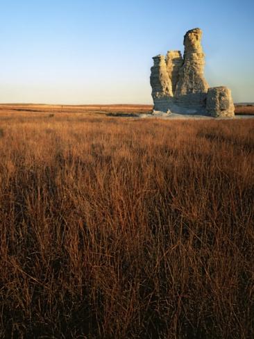 Castle Rock, Gove County, Kansas, USA
