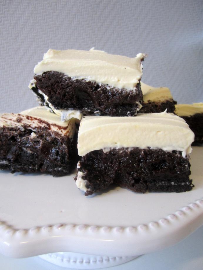 Fudgy Oreo Brownies! | Recipe/Food! | Pinterest