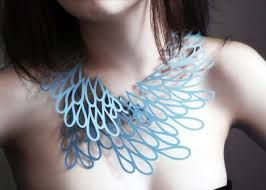 delicate woven necklace - Google Search