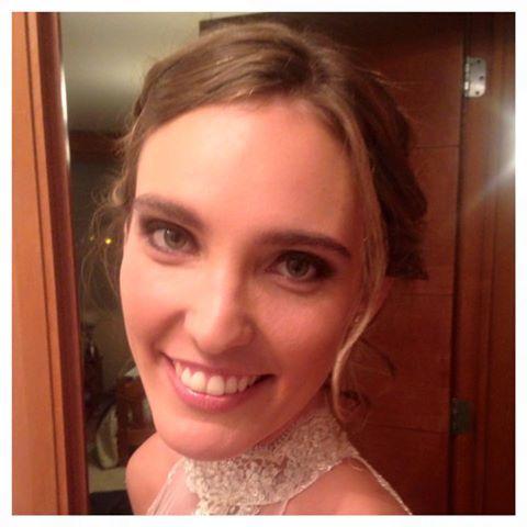 #Meicap de ayer para la Novia más linda y simpática @javivaldi25 ✨✨ #meicap #makeup #bride #weddingday #mua #beauty