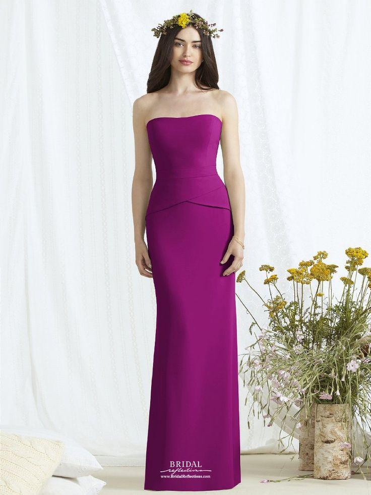 35 best Deep Red Wedding images on Pinterest | Bridesmade dresses ...