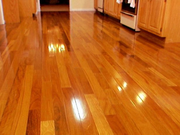 How to stain a hardwood floor woods diy network and for How to clean floor stains