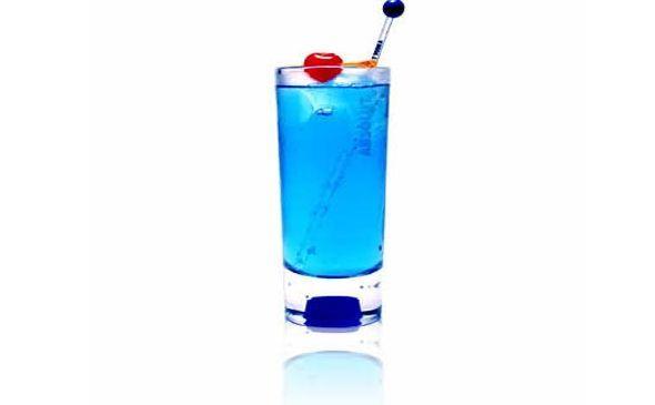 Trago,  Martini Azul - Receta y Preparación