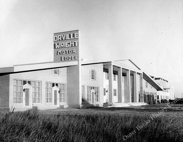 Orville Wright Motor Lodge Kill Devil Hills 1950s