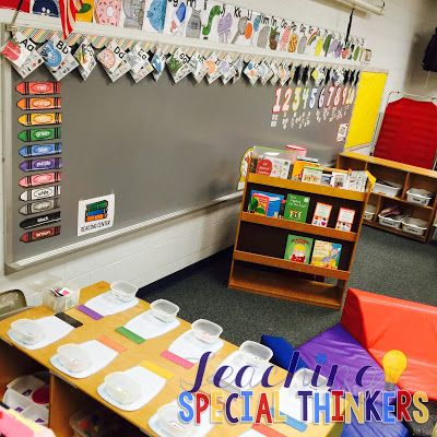 Here's to Another Year: Autism Classroom Tour! | Teaching Special Thinkers