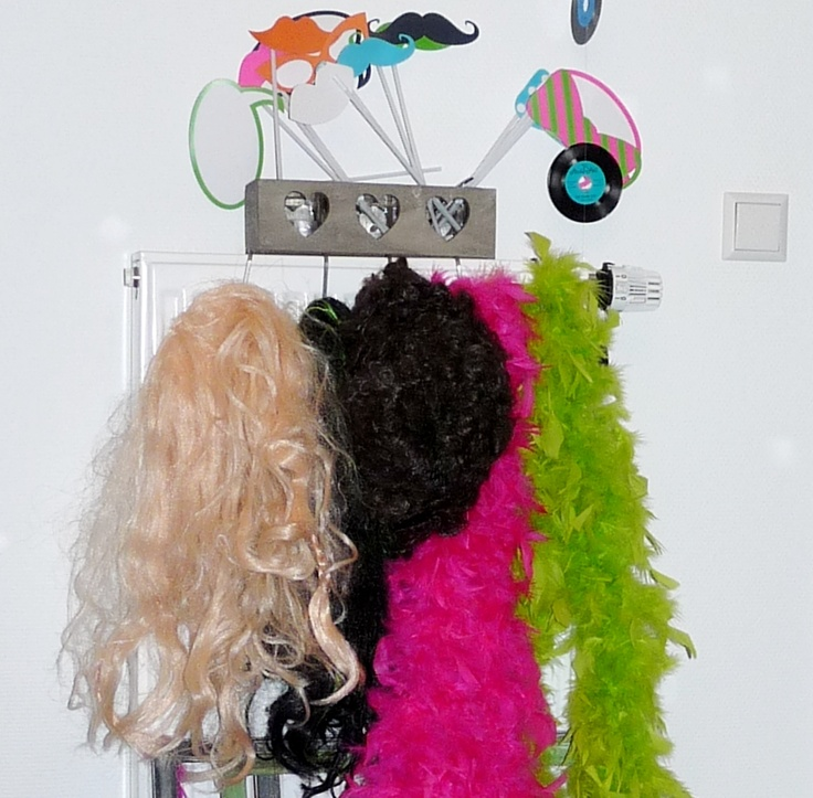 Yes, we should have wigs, hats and boas for the Music video!
