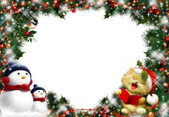Cartes et cadres gratuits pour Noël avec votre photo