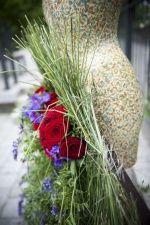 Kwitnące Haute Couture Opole 2013, praca K. Sichma, A. Zakrzewska, fot. Joanna Przywar