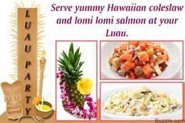 Luau Party Food